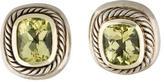 David Yurman Two-Tone Lemon Quartz Albion Earrings