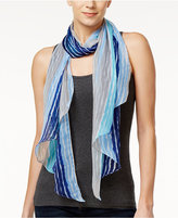 INC International Concepts Painted Stripe Scarf, Created for Macy's