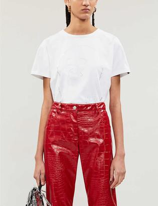 BAPE Hologram-print cotton-jersey tee
