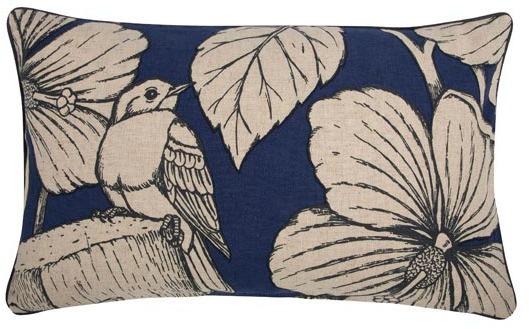 Thomas Paul Flax Hibiscus 12x20 Pillow