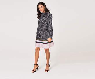 Oasis ANIMAL PRINT SHIFT DRESS*