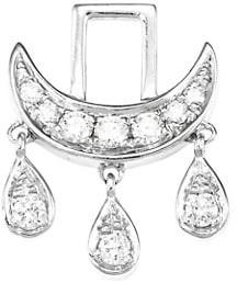 Robinson Pelham EarWish 14K White Gold & Diamond Spirituality Earring Charm