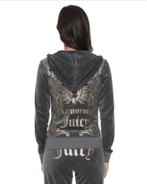 Juicy Couture Logo Glamorous Juicy Velour Original Jacket