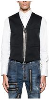 DSQUARED2 Black Wool Vest