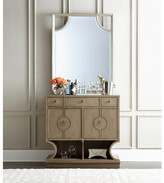 Stanley Virage 2 Drawer Combo Dresser with Mirror-Virage 2 Drawer Combo Dresser