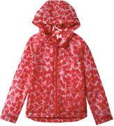 Joe Fresh Kid Girls' All Over Print Jacket, Red (Size M)