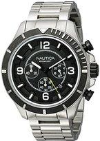 Nautica Men's NAD21506G NST 450 Analog Display Analog Quartz Stainless Steel Watch