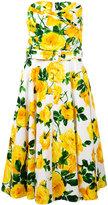 Samantha Sung Carol dress - women - Cotton/Spandex/Elastane - 4