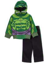 Children's Apparel Network Hulk Fleece Jacket & Pants - Toddler