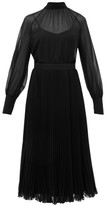 Max Mara Malizia Midi Dress - Womens - Black