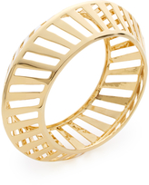 Rebecca Minkoff Major Laser Gold Bangle Bracelet
