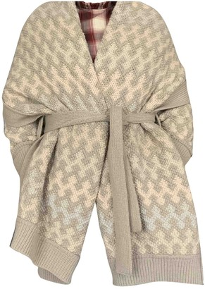 Louis Vuitton Beige Wool Knitwear for Women