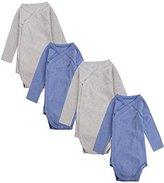 JISEN Baby Kimono Onesies Long Sleeve 6-9M