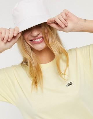 Vans Small Logo t-shirt in cream