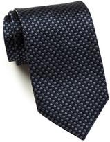 HUGO BOSS Silk Shiny Grid Tie