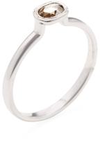 Ila Nara18K White Gold & 0.22 Total Ct. Diamond Ring