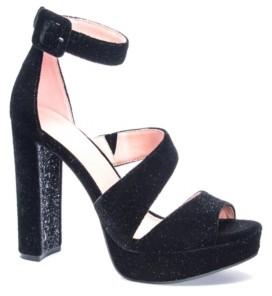 Chinese Laundry Riddle Women's Asymmetrical Platform Dress Sandals Women's Shoes