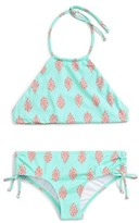 Billabong Girl's Hippy Ditsy Two-Piece Swimsuit