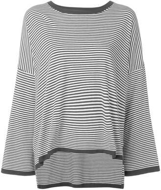 P.A.R.O.S.H. striped oversized jumper