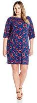 Leota Women's Plus-Size Nouveau Sheath Dress