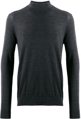 Pringle Mock-Neck Knit Sweater