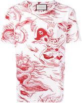 Gucci Sea Storm print t-shirt - men - Cotton - L