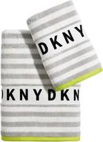 DKNY Ticker Tape Towel Set