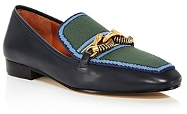 Tory Burch Women's Jessa Pointed-Toe Embellished Loafers