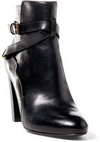 Ralph Lauren Vianca Burnished Calfskin Boot