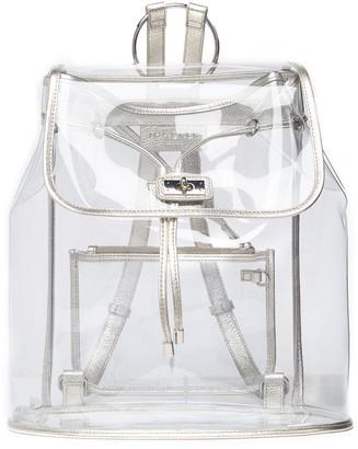 THACKER Peekaboo Clear Backpack