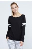 Monrow Athletic Knit Sweatshirt