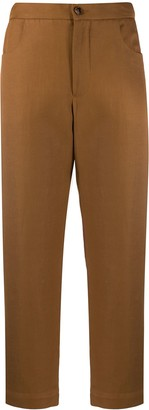 Barena Cropped Straight Leg Trousers
