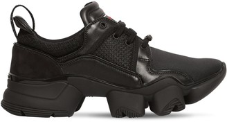 Givenchy Jaw Suede, Nylon & Mesh Sneakers