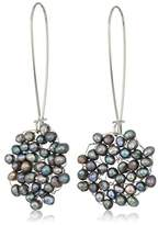 Kenneth Cole New York Womens Woven Drop Earrings