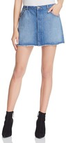 Joie Hayon Denim Mini Skirt