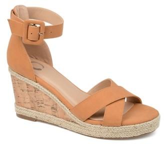 Journee Collection Telyn Espadrille Wedge Sandal