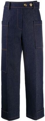 REJINA PYO High-Waisted Jeans