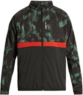 The Upside Ultra Sketchy Camouflage-print running jacket