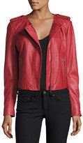 Joie Koali Leather Jacket, Red