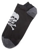 Corgi Skull Sneaker Socks