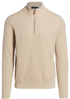 Saks Fifth Avenue COLLECTION Knit Silk & Cashmere-Blend Pullover