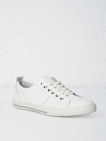 White Stuff Leather lace up trainer