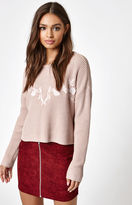 KENDALL + KYLIE Kendall & Kylie Embroidered Pullover Sweater