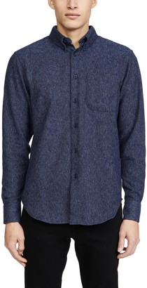 Naked & Famous Denim Easy Shirt In Cotton Tweed