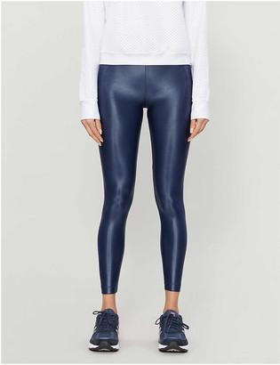 Koral Lustrous high-shine stretch-jersey leggings
