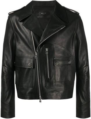 Amiri Flap Pocket Biker Jacket