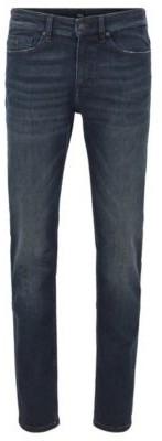 HUGO BOSS Slim Fit Jeans In Lightweight Super Stretch Denim - Dark Blue