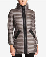 DKNY Stand-Collar Packable Down Puffer Coat