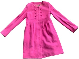 Alannah Hill Pink Wool Coat for Women