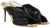 Oscar de la Renta Satin sandals